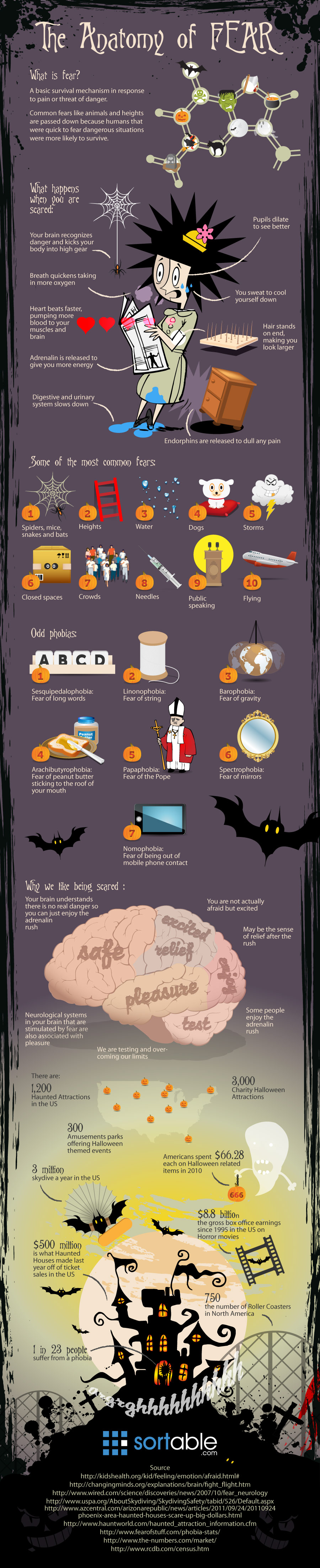 All You Need To Know About Fear! - Infographic