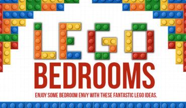 Creative LEGO Bedroom Ideas - Infographic