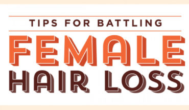 Dealing With Female Hair Loss - Infographic
