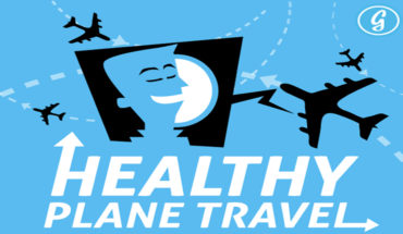 How To Have A Healthy Plane Travel - Infographic