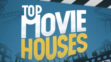 Most Iconic Movie Houses – Real or Not? - Infographic GP
