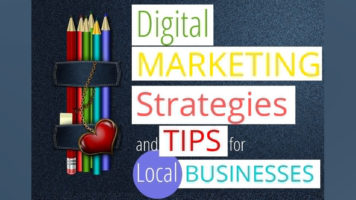 10 Tips For The Digital Marketing Strategies Of Local Businesses - Infographic GP