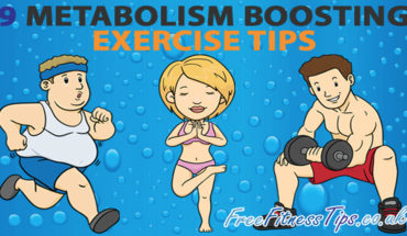 Exercise Hacks For Boosting Your Metabolism - Infographic