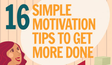 How to Keep Yourself Motivated to Be Productive - Infographic