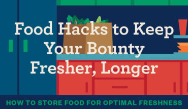 How To Stop Your Refrigerated Food From Getting Spoilt - Infographic
