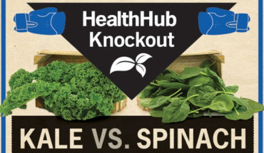 Kale or Spinach? Which One Is Healthier?  - Infographic