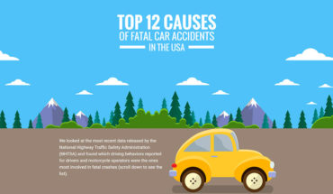 Most Common Reasons For Deadly Car Accidents In The USA  - Infographic