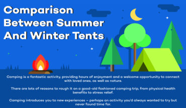 Summer Tents vs Winter Tents - Infographic