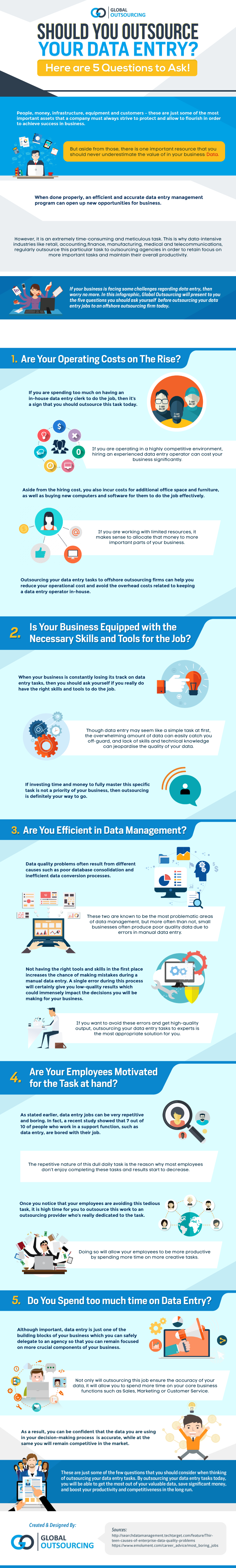 Are You Confused About Whether You Should Outsource Your Data Entry? - Infographic