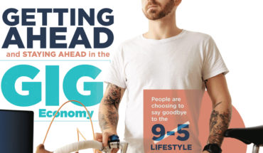 How To Conquer The Gig Economy - Infographic