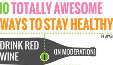 Interesting Ways To Keep Yourself Healthy - Infographic