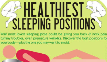 Sleeping Positions That Are Healthiest For You - Infographic