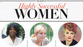 The 4 Main Habits All Highly Successful Women Share - Infographic