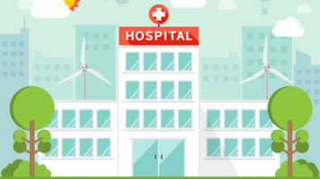 The Most Green Hospitals Of America - Infographic