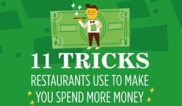 This Is How Restaurants Make You Spend More - Infographic