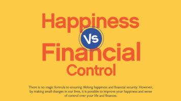UK's Happiness Vs Life Control Index - Infographic