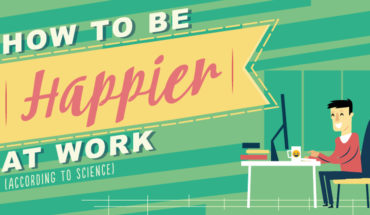 Ways To Make Your Workplace A Happier Place - Infographic