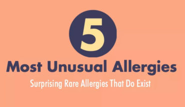 Allergies That Are Very Strange And Unusual - Infographic