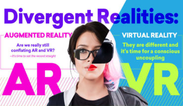 The Difference Between AR And VR - Infographic