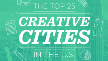These Are The Most Creative Cities Of America - Infographic