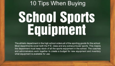 A Guide To Buying Sports Equipment For School - Infographic
