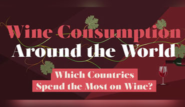 Around The World With Wine - Infographic