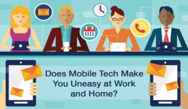Having Your Work Email On Your Smartphone - Infographic