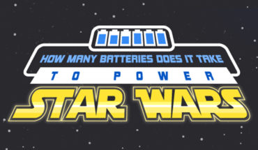 How Many Batteries Would We Need To Power Star Wars? - Infographic