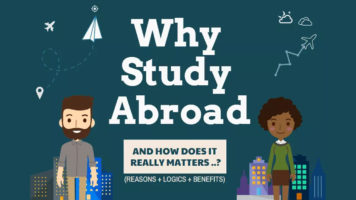 How Studying Abroad Helps The Students In Reshaping Their Personality? - Infographic