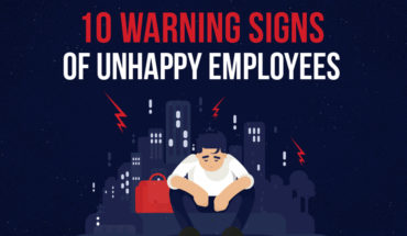 Signs That Your Employees Are Unhappy - Infographic