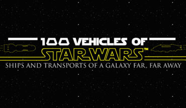 Star Wars And All Its 100 Means Of Transport - Infographic