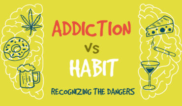 When Habits Turn Into Dangerous Addictions - Infographic