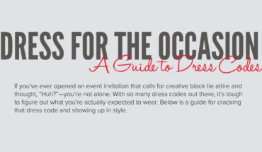 A Guide To Dressing For The Occasion - Infographic