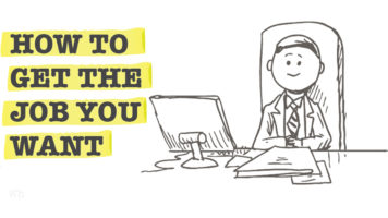 A Guide To Getting The Job Of Your Choice - Infographic