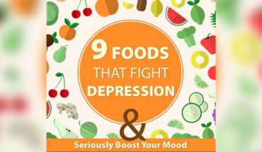 Anti-Depression foods - Infographic