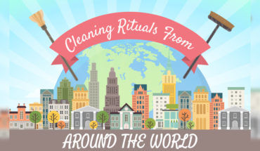 Different Cleaning Rituals Across The Globe - Infographic