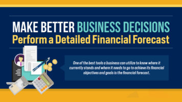 Financial Forecasting For Better Business Decisions - Infographic