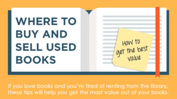 How To Buy And Sell Books Efficiently - Infographic