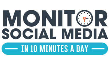 How To Monitor The Social Media Of Your Organization - Infographic