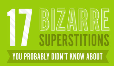 Inexplicable Superstitions You Had No Idea About - Infographic