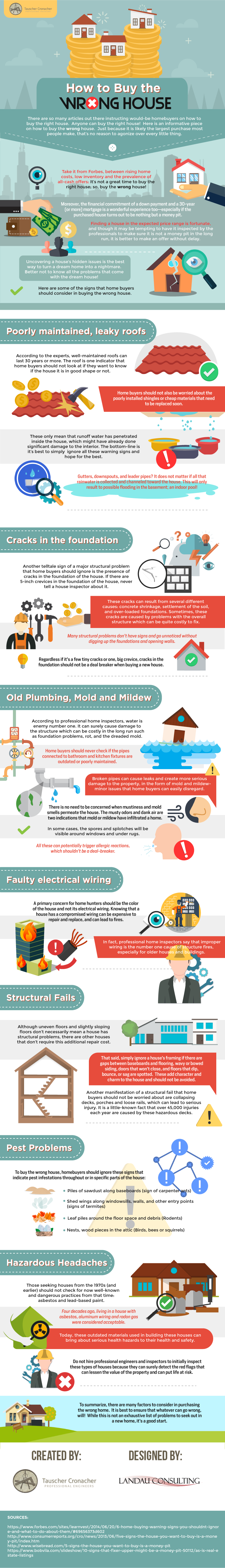 This Is How You Can Buy The Wrong House For You - Infographic