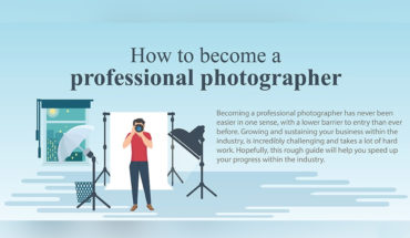 A Guide To Becoming A Professional Photographer - Infographic