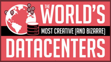 Data Centers That Are Really Creative - Infographic