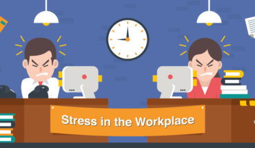 Dealing With Stress At Your Workplace - Infographic
