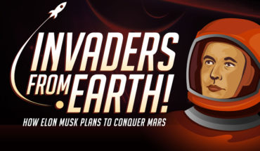 Elon Musk's Foolproof Plan To Conquer Mars - Infographic