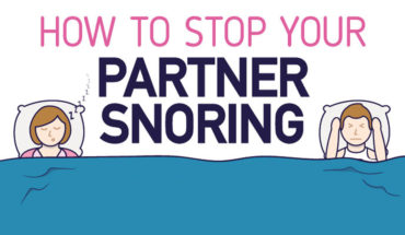 How To Do Away With Your Partner's Snores - Infographic