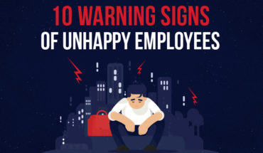How To Know If Your Employees Are Unhappy - Infographic