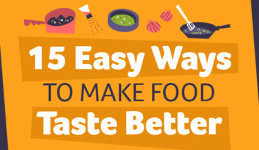 How To Make Food Taste Better - Infographic