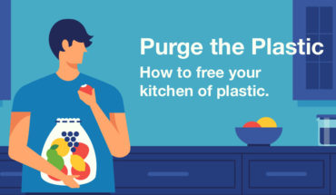 How To Make Your Kitchen Plastic-Free – Infographic