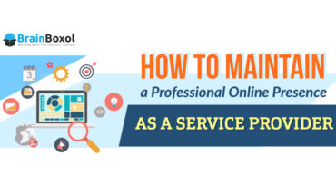 Maintaining Your Company's Online Presence - Infographic